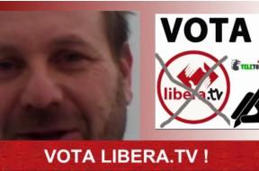 Jacopo Venier vota Libera Tv