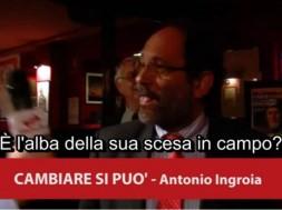 Antonio Ingroia scende in campo