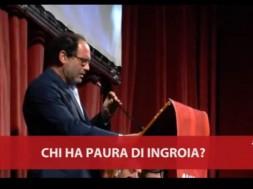 Antonio Ingroia confronto con il PD