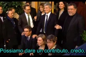 Candidati SEL con Vendola
