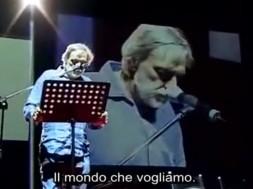 Gino Strada il mondo che vogliamo
