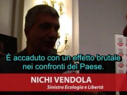 Nichi Vendola su Monti