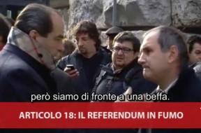 Firme Referendum Art. 18