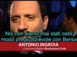 Antonio Ingroia Bersani