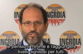 Antonio Ingroia Elezioni