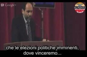 Antonio Ingroia vinceremo le elezioni