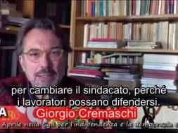 Giorgio Cremaschi 28 aprile
