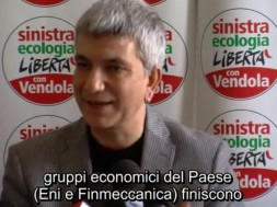 Nichi Vendola su Finmeccanica
