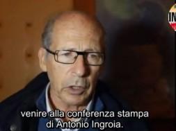 Salvatore Borsellino con Antonio Ingroia