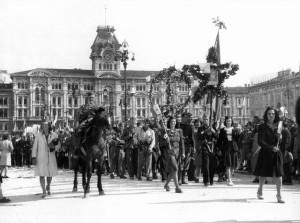 Le truppe partigiane jugoslave a Trieste