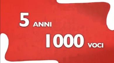 5 anni 1000 voci Libera Tv