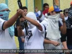 Guarimba violenta in Venezuela