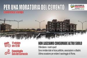 Moratoria del cemento a Roma