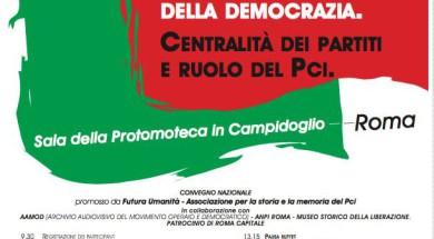Lotta di Liberazione e costruzione della Democrazia. Il ruolo del PCI