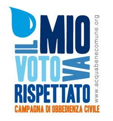 Acqua: nessuna liberalizzazione rispetta il referendum