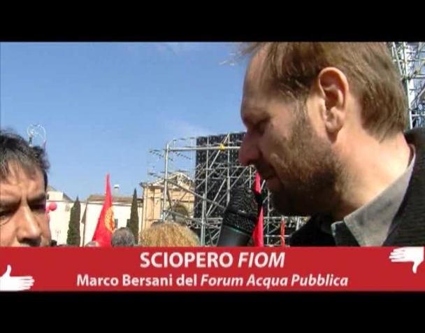 sciopero-fiom-marco-bersani-del-forum-acqua-pubblica-video-intervista