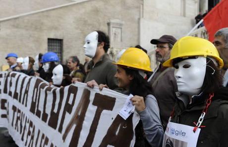 I lavoratori dell'Eutelia