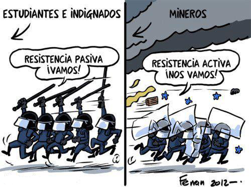 In Spagna come in Grecia esplode il conflitto sociale: e in Italia che cosa aspettiamo?