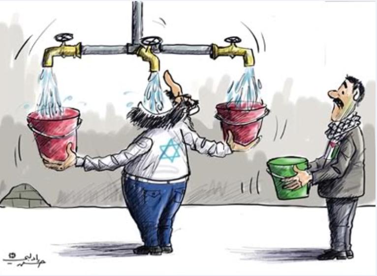 Sete di Giustizia. Acqua per la Palestina