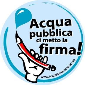 Referendum per l'acqua pubblica