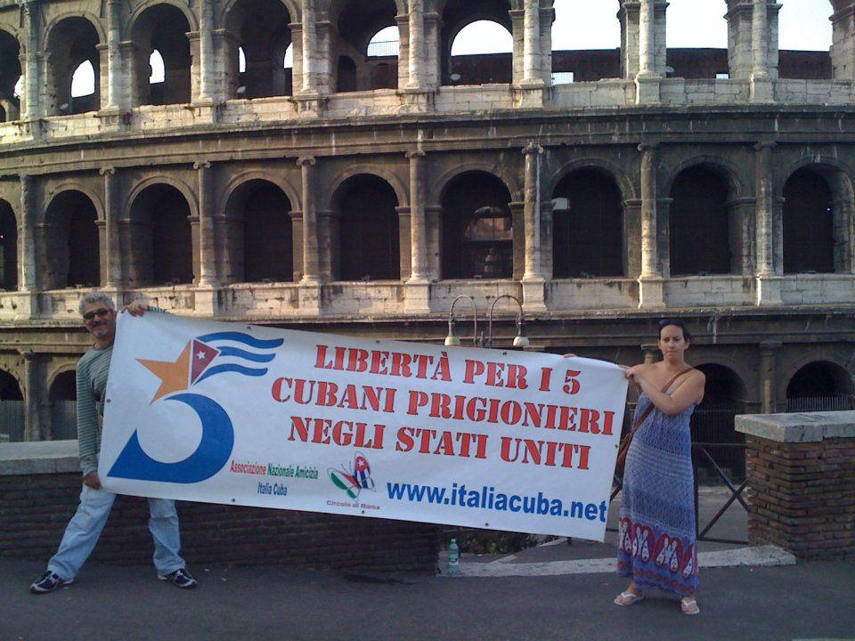 Roma: Liberate i 5 cubani detenuti negli USA!