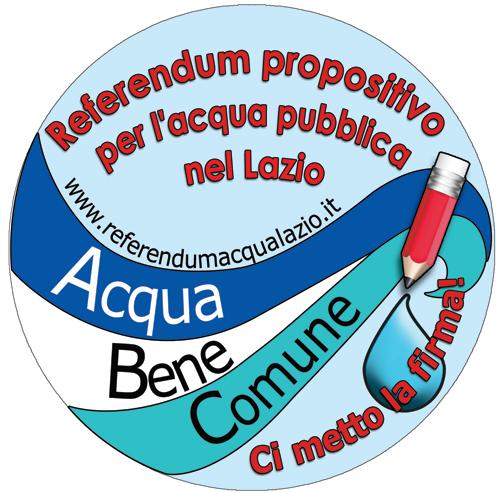 Referendum Acqua Lazio