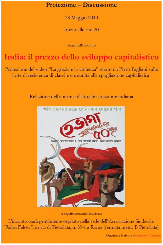 India: il prezzo dello sviluppo capitalistico