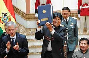 BOLIVIA : Promulgata la legge sulla Madre Terra