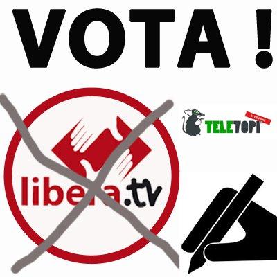 VOTA LIBERA.TV ! – Concorso TeleTopi per la migliore WebTv italiana