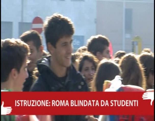 istruzione-roma-blindata-dagli-studenti