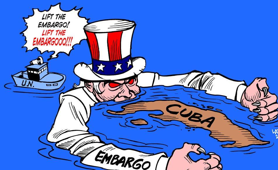 L'ONU CONTRO IL BLOCCO A CUBA. USA isolati insieme ad Israele e Palau