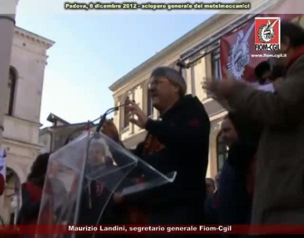 comizio-di-maurizio-landini-allo-sciopero-generale-dei-metalmeccanici