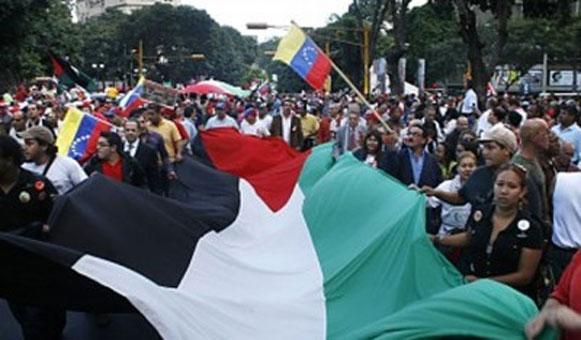 Venezuela è il primo paese al mondo ad abolire i visti per i palestinesi.
