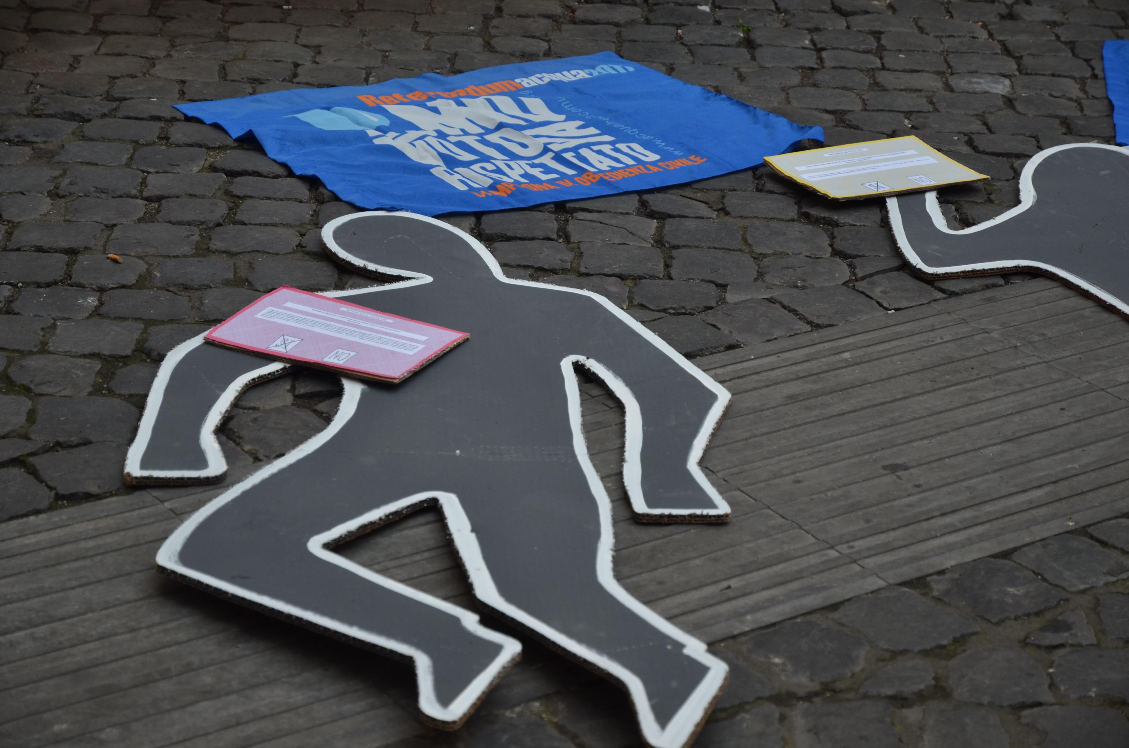 ACQUA PUBBLICA – stanno uccidendo il referendum