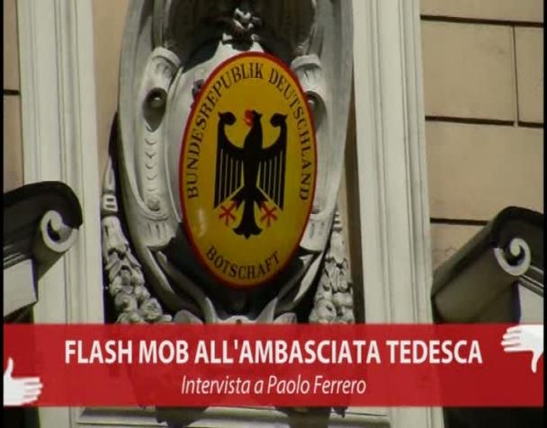 flash-mob-allambasciata-tedesca-intervista-a-paolo-ferrero