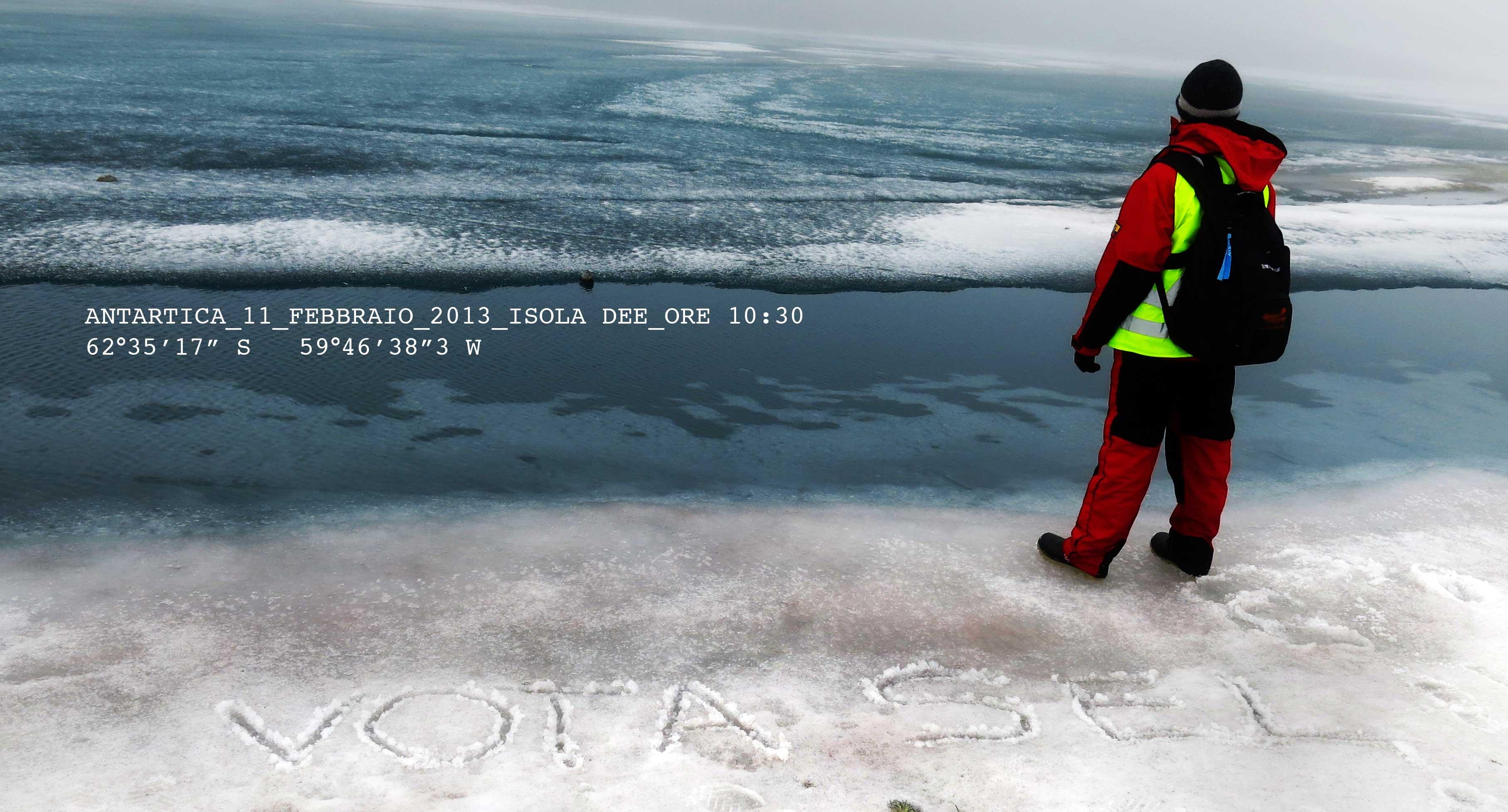 ELEZIONI : dall'Antartide sostegno a SEL