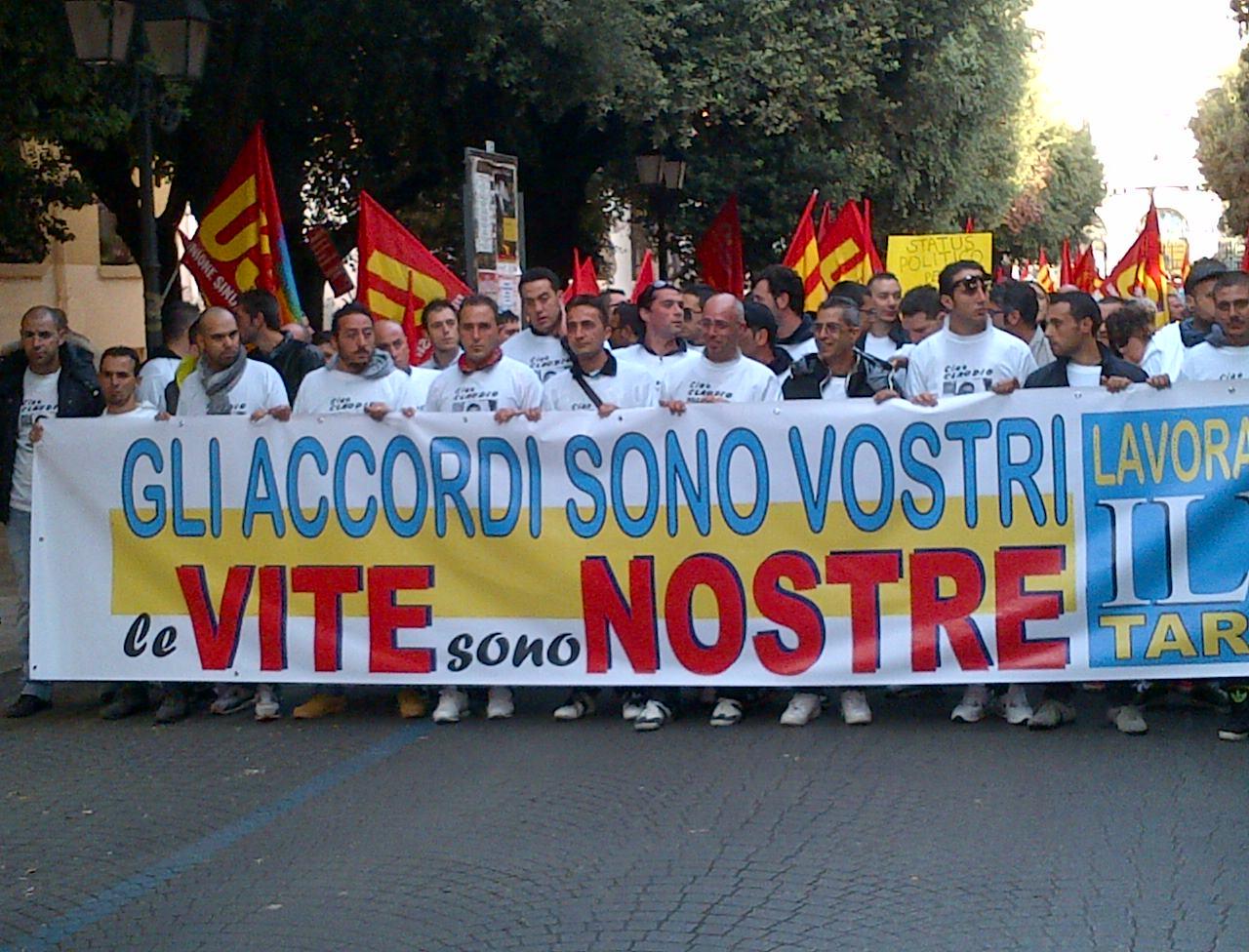 Altri morti e feriti all'ILVA di Taranto. USB indice lo sciopero immediato