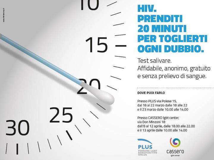 TEST HIV A RISPOSTA RAPIDA (SALIVARE) A BOLOGNA