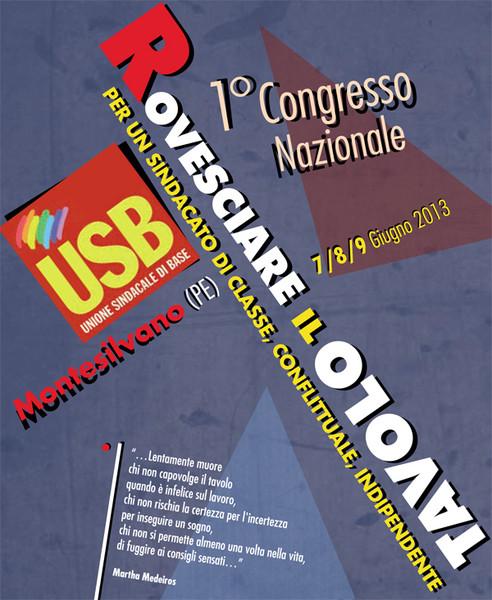 USB: un Congresso importante in una fase difficilissima