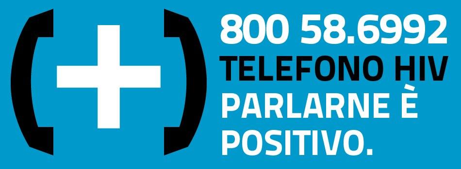 TELEFONO POSITIVO 800 58 6992 – TELEFONO HIV PARLARE Eì POSITIVO