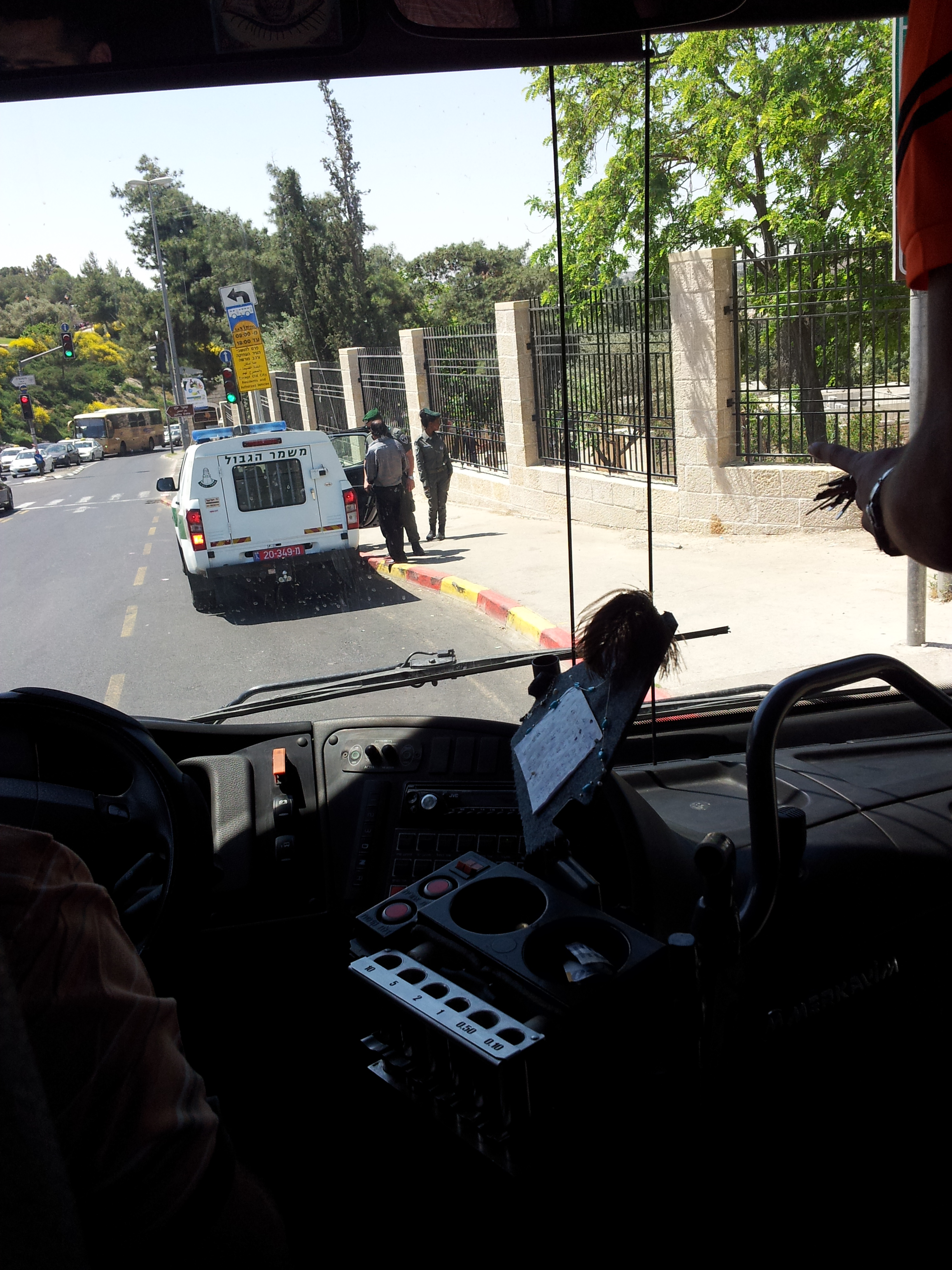 PALESTINA : Cronaca di una giornata di ordinaria occupazione