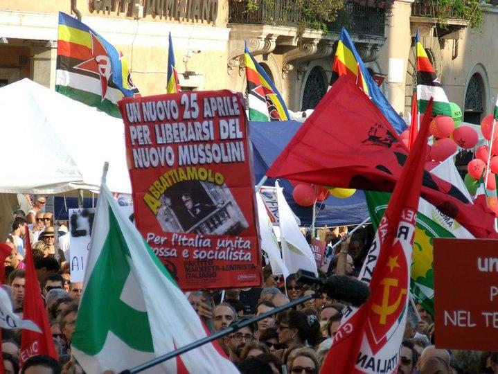 No al Bavaglio- Roma, Piazza Navona, 1 luglio 2010