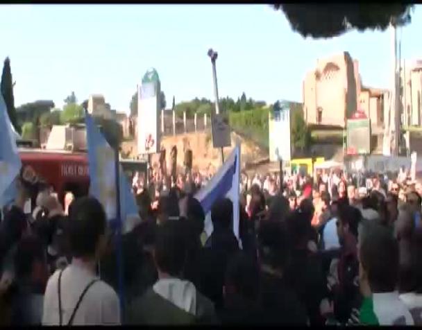 25-aprile-a-roma-scontri-tra-filo-palestinesi-ed-ebrei