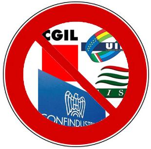 No al divieto di sciopero e alla privatizzazione della rappresentanza.