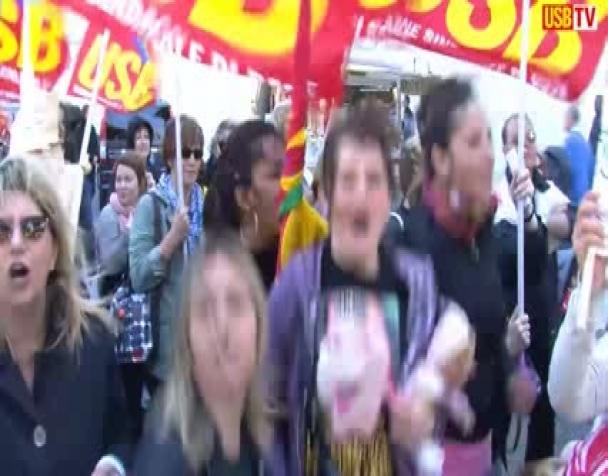 roma-sciopero-dipendenti-comunali-e-presidio