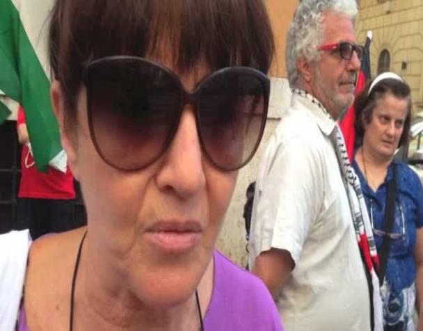 palestina-sit-in-sotto-il-comitato-centrale-della-cri-intervista-a-patrizia-cecconi