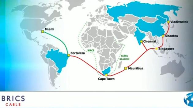 Il sistema internet dei BRICS potra' mettere fine all'egemonia Usa della rete