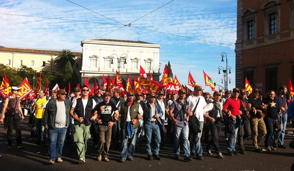 12 Aprile 2014 : manifestazione nazionale a Roma