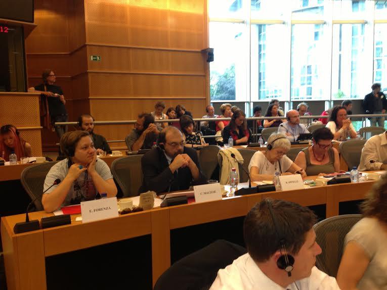 GUE-NGL : Prima riunione al Parlamento Europeo