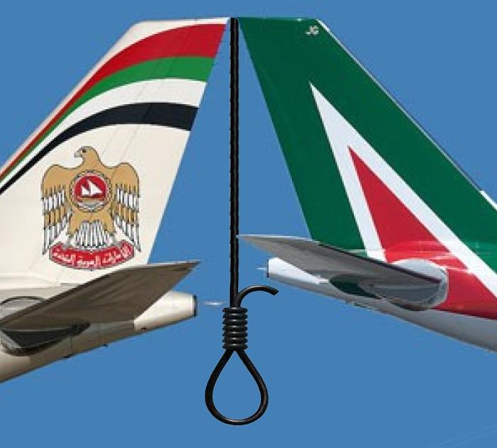 Alitalia – Etihad: esuberi zero